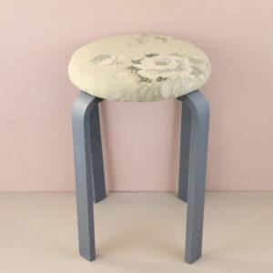オーダー家具 丸椅子 エメライングレー