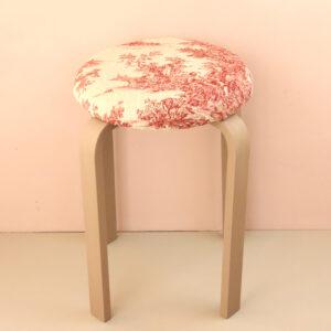 オーダー家具 丸椅子 リネントワレ