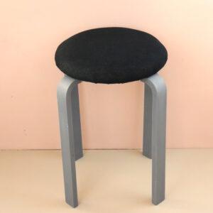 オーダー家具 丸椅子 ネイビー