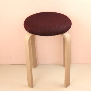 オーダー家具 丸椅子 ボルドー
